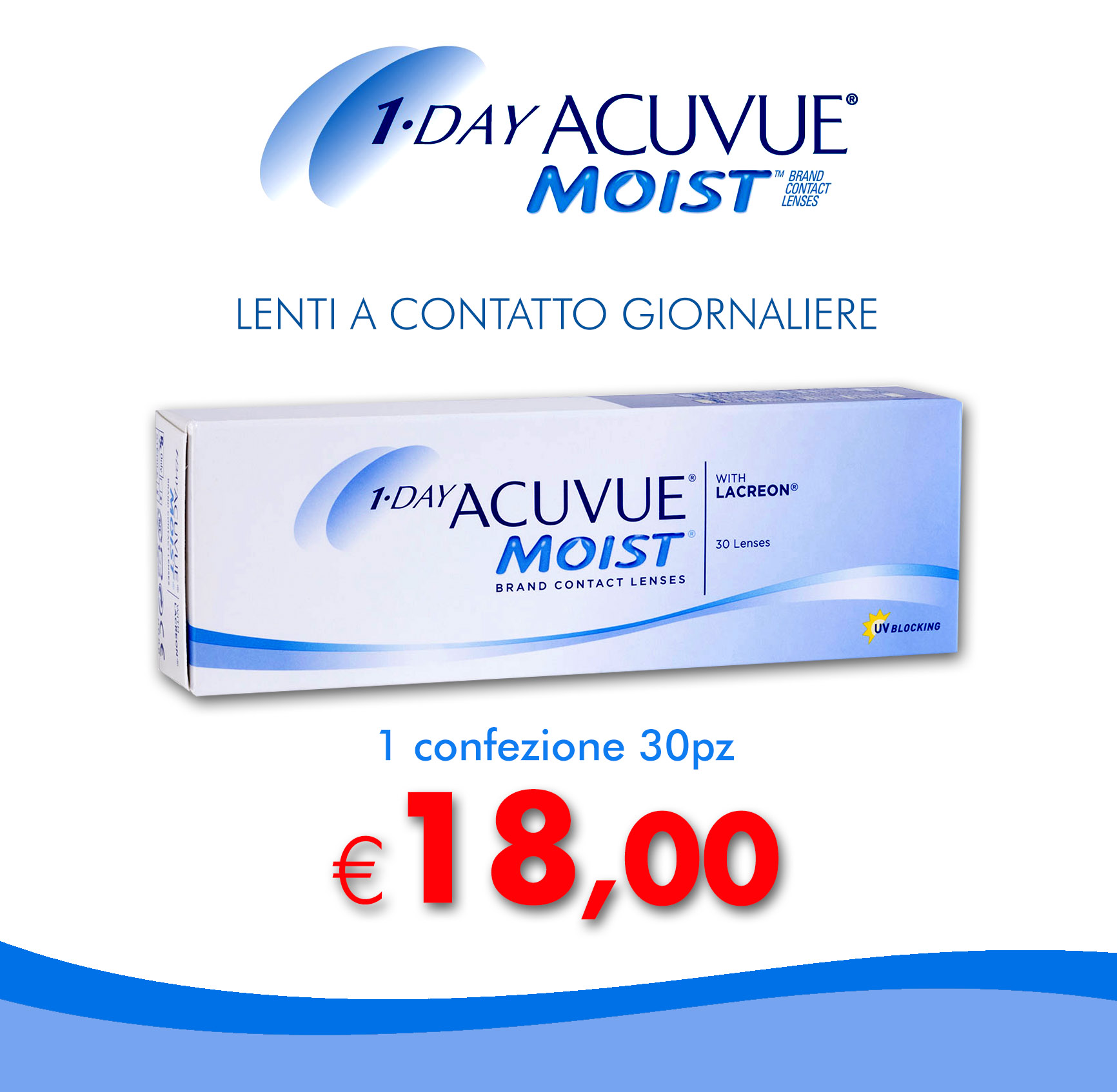 Acuvue Moist 1-Day